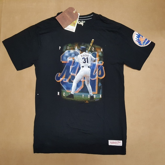 new concept 3a943 9a271 Mitchell & Ness NY Mets Piazza T-shirt Men's sz M NWT